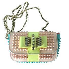 Christian Louboutin-Sweety charity handbag-Yellow