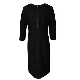 Apostrophe-Robe dentelle-Noir
