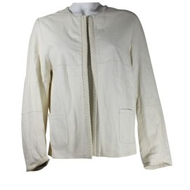 Max & Moi-Leather jacket-Cream