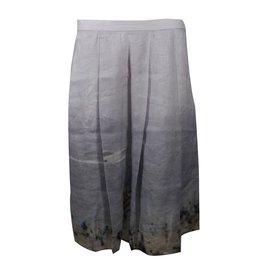 Agnès b.-Skirt-Grey