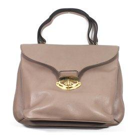 Valentino Garavani-Handbag-Taupe