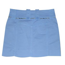 Burberry-Skirts-Blue