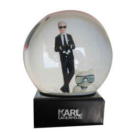 Karl Lagerfeld-Boule à neige-Multicolore