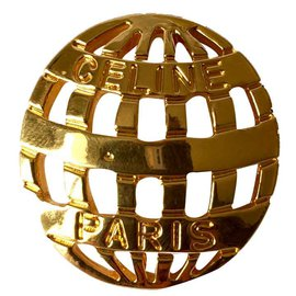 Céline-Pins & brooches-Golden