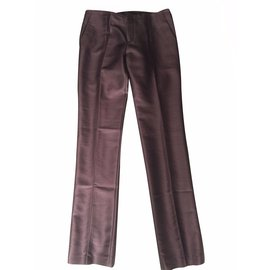 Gucci-Pantalons-Marron