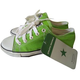 Converse-Baskets enfant-Vert