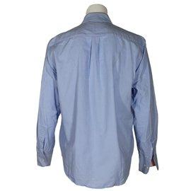 Hackett London-Chemise-Bleu