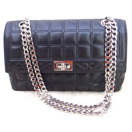 Chanel-Limited edition 2.55 flap bag-Noir ... b7df7ba9c4a
