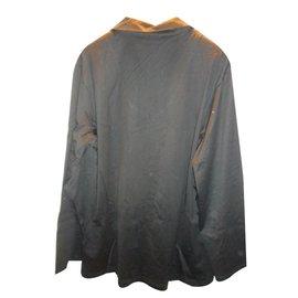 Cesare Paciotti-Cesare paciotti men's black cotton sleepwear pajama set lounge size 50  nwt-Black