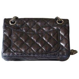 Chanel-Mini 2.55-Noir