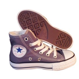 Converse-Baskets enfant-Gris