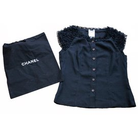 Chanel-Top-Black