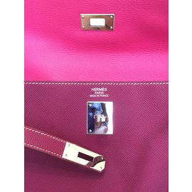 Hermès-Bicolor Kelly 35-Purple