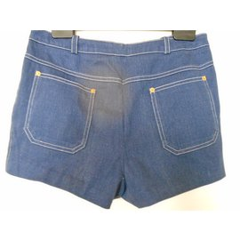 Céline-Shorts-Blue