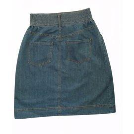 Chanel-Skirt Paris-Dallas-Blue