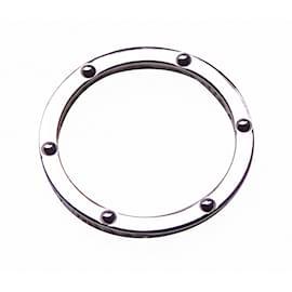 Hermès-Ring Clipper White Gold-Silvery