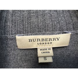 Burberry-Pull Burberry London-Grey