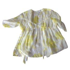 Chloé-Tops-Yellow