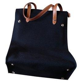 Hermès-Handbags-Black