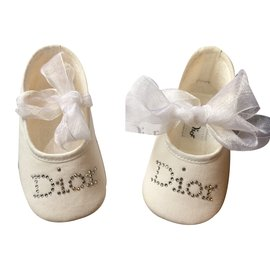 Baby Dior-First steps-White