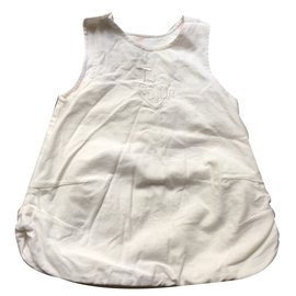 Baby Dior-Robes fille-Blanc
