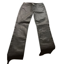 Jean Paul Gaultier-Pantalons fille-Noir
