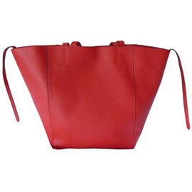 Céline-Tote-Red
