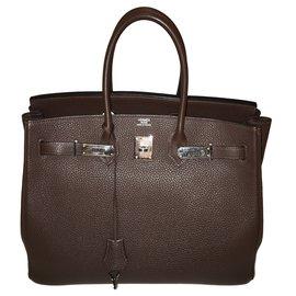 Hermès-Birkin 35-Ebony