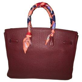 Hermès-Birkin 35-Red