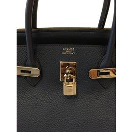 Hermès-Birkin 40-Blue