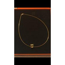 Hermès-Collier cage d'H-Autre