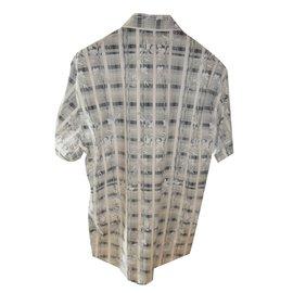 Roberto Cavalli-Roberto cavalli class floral printed  stretch shirt-Multiple colors