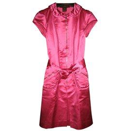 Louis Vuitton-Robes-Rose