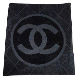 Chanel-Swimwear-Black