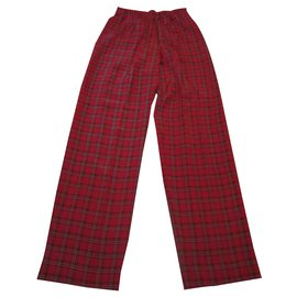 Chanel-Pant-Red