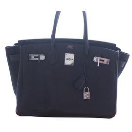 Hermès-Birkin 30-Brown