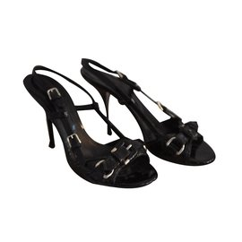 Burberry-Sandals-Black