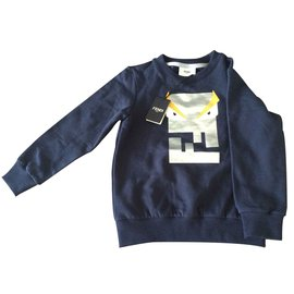 Fendi-Sweater-Blue