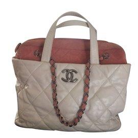 Chanel-Tote-White