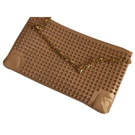 Christian Louboutin-Loboutin Clutch bag-Rose