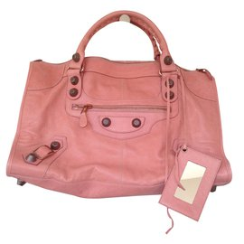 18f21d65de Balenciaga-Giant City in Antique Rose colour with classic metal hardware -  100% soft ...