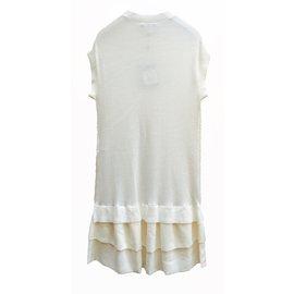 Louis Vuitton-Robe-Blanc