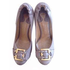 Chloé-Heels-Khaki