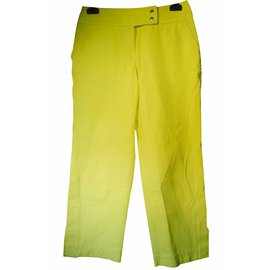 Louis Vuitton-Pantalon-Jaune