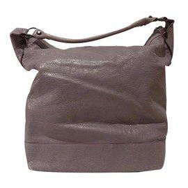 Balenciaga-Classic Day Hobo Bag-Violet