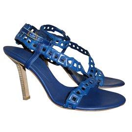 Céline-Sandals-Blue