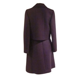 Chanel-Tailleur jupe Pre-Fall 2001-Violet