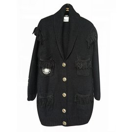 Chanel-Cardigan 2015 Collection-Black