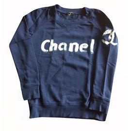 Chanel-Sweat-Blue