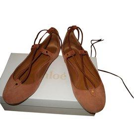 Chloé-Ballet flats-Brown